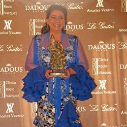 María del Monte recoge el Premio Flamenca del Año 2013