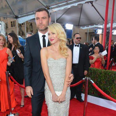 Naomi Watts y Liev Schreiber en los Screen Actors Guild Awards 2013