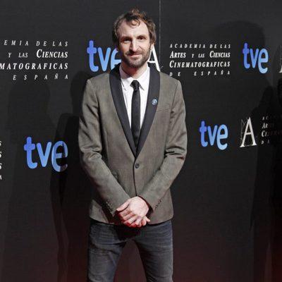 Julián Villagrán en la entrada de la cena de los nominados a los Goya 2013