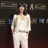Maribel Verdú en la entrada de la cena de los nominados a los Goya 2013