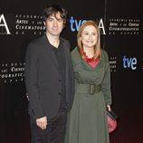 Eduardo Chapero Jackson en la entrada de la cena de nominados a los Goya 2013