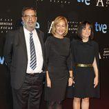 Enrique González Macho en entrada de la cena de los nominados a los Goya 2013