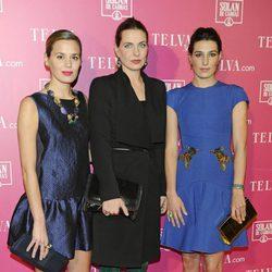 Las hermanas Ortiz Domecq en los Premios Telva de Belleza 2013