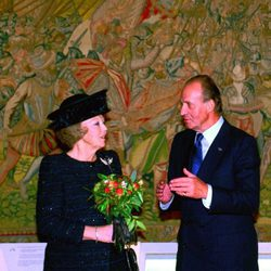 La Reina Beatriz de Holanda y el Rey Juan Carlos de España