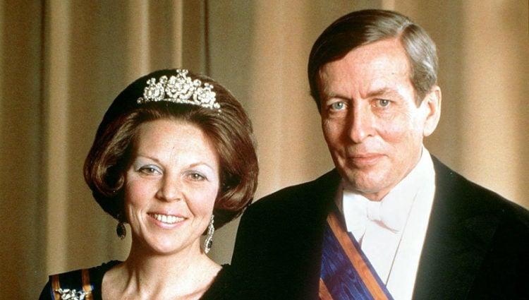 La Reina Beatriz de Holanda y el Príncipe Claus