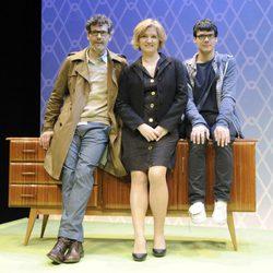 Roberto Enríquez, Ana Wagener y Críspulo Cabezas protagonizan la obra de teatro 'Málaga'