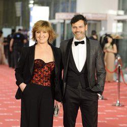Ana Wagener y Roberto Enríquez en los Goya 2012