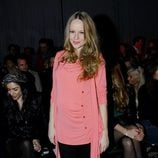 Esmeralda Moya en el desfile otoño/invierno 2013/2014 de Javier Simorra en la 080 Barcelona Fashion