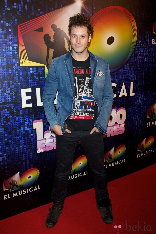 Daniel Diges en el estreno de '40 El Musical'