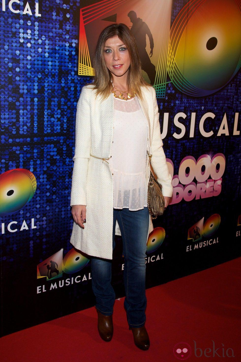 Eva Isanta en el estreno de '40 El Musical'