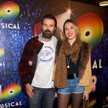 Pau Donés en el estreno de '40 El Musical'