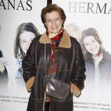 Beatriz Calvajal en el estreno de la obra de teatro 'Hermanas'