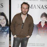 Antonio Molero en el estreno de la obra de teatro 'Hermanas'