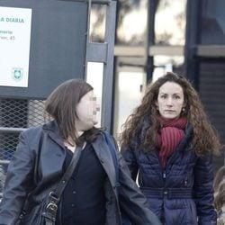 Telma Ortiz por las calles de Barcelona
