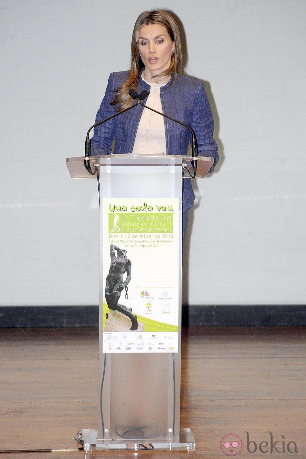 La Princesa de Asturias en la Inauguración del Encuentro de Enfermedades Raras y Discapacidad