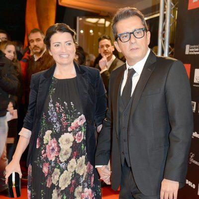 Silvia Abril y Andreu Buenafuente en los Premios Gaudí 2013