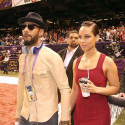Alicia Keys y Swiss Beatz en la Super Bowl 2013