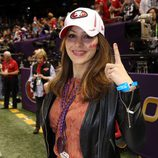 Katharine McPhee en la Super Bowl 2013