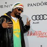 Snoop Dogg en la fiesta tras el almuerzo de los nominados a los Oscar 2013