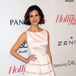 Morena Baccarin en la fiesta tras el almuerzo de los nominados a los Oscar 2013