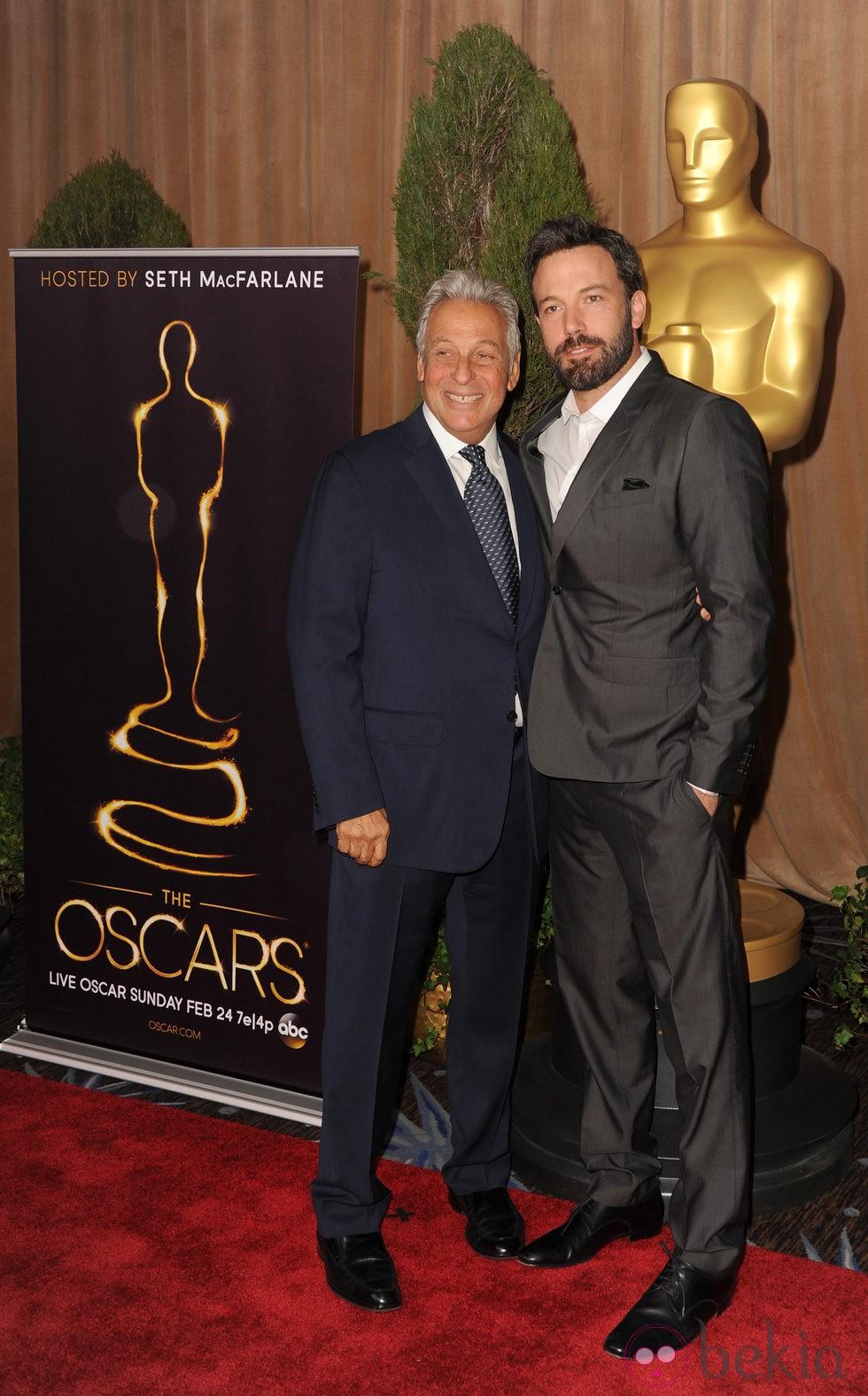 Ben Affleck en el almuerzo de los nominados a los Oscar 2013