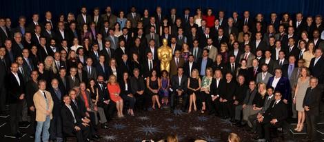 Todos los asistentes al almuerzo de los nominados a los Oscar 2013