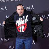 Carlos Areces en el estreno de 'Mamá'