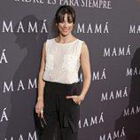 Mariam Hernández en el estreno de 'Mamá'