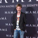 Eloy Azorín en el estreno de 'Mamá'