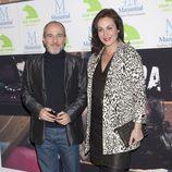 Fernando Guillén Cuervo y Ana Milán en el estreno del documental 'Fuera de lugar'