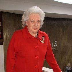 La Infanta Pilar en la inauguración del Rastrillo de Sevilla 2013