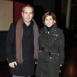 Jacobo y Alejandra Martos en el estreno de 'Antígona'