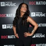 Christina Millian en la fiesta Roc Nation pre-Grammy 2013