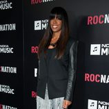 Kelly Rowland en la fiesta Roc Nation pre-Grammy 2013