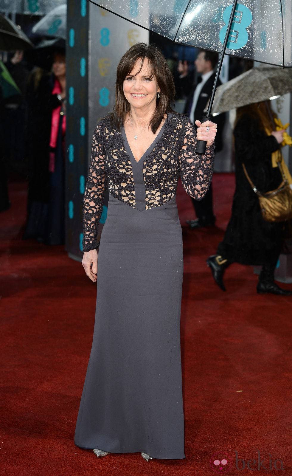 Sally Field en la alfombra roja de los BAFTA 2013
