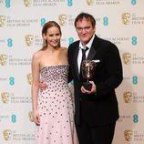 Quentin Tarantino ganador del premio al mejor guion en los BAFTA 2013