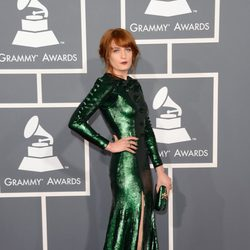 Florence Welch en los Grammy 2013