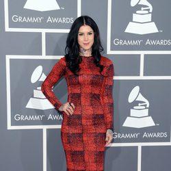 Kat Von D en los Grammy 2013