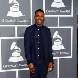 Frank Ocean en la alfombra roja de los Grammy 2013