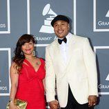 L.L. Cool J. y Simone en los Grammy 2013
