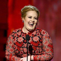Adele en la gala de los Grammy 2013