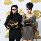 Skrillex en los Grammy 2013
