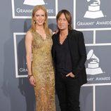 Nicole Kidman y Keith Urban en la alfombra roja de los Grammy 2013