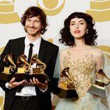 Wouter De Backer, Gotye, y Kimbra en los Grammy 2013