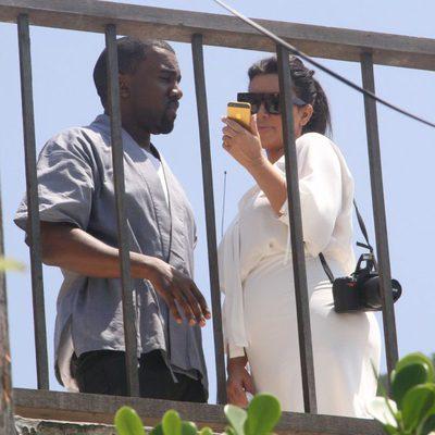 Kim Kardashian y Kanye West de vacaciones en Río de Janeiro
