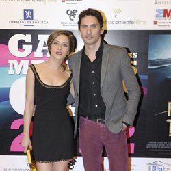 María y Paco León en la gala de entrega de las Medallas del CEC 2013