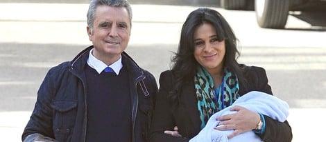 José Ortega Cano y Ana María Aldón presentan a su hijo José María