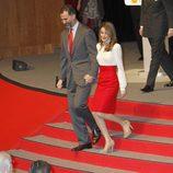 Los Príncipes de Asturias en la entrega de acreditaciones a los Embajadores de la Marca España