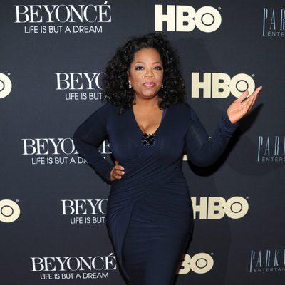 Oprah Winfrey en la presentación del documental de Beyoncé 'Life is But a Dream'
