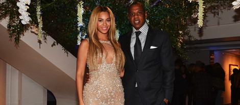 Beyoncé y Jay-Z en la presentación del documental 'Life is But a Dream'